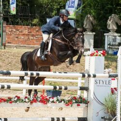 Stuart Walker show jumping clinic: a big success