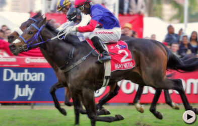Stars come out to play at the Durban July
