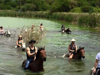 Win a trail ride for two!