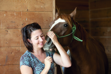 Horses and humans in harmony – The healing ways of Oppistal