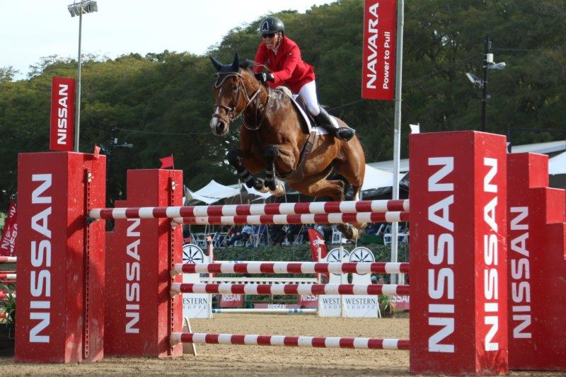 Showjumping champion Anne-Marie Esslinger takes the main title at the 2018 Nissan Winter Classic