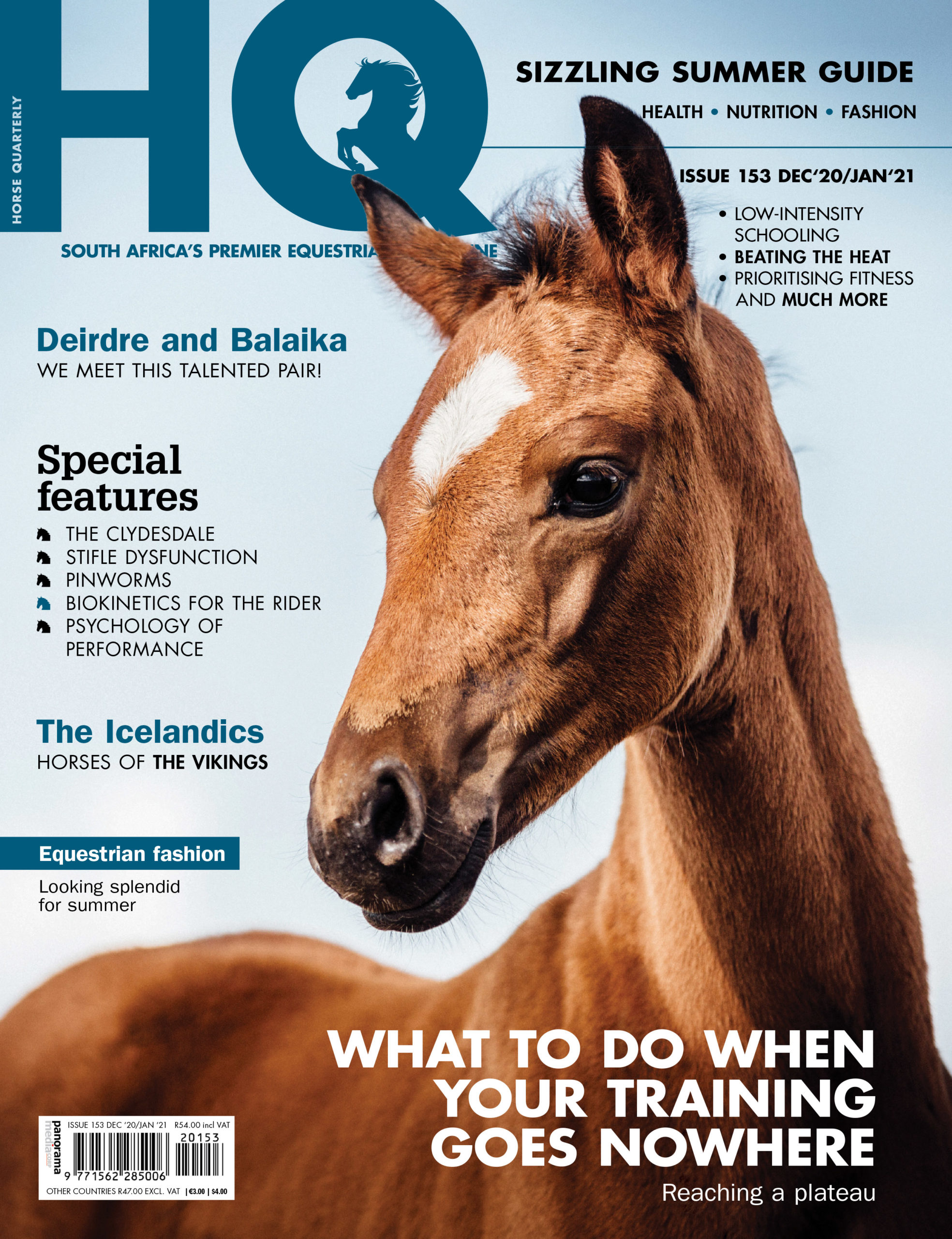 HQ Issue 153 on shelf now!