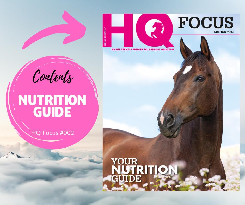 HQ Focus Nutrition Guide Contents