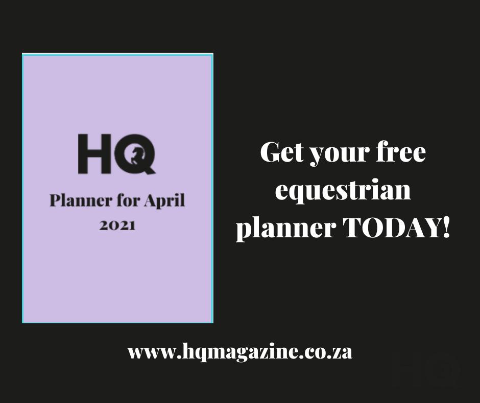 FREE April planner
